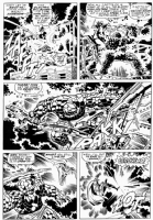 Fantastic Four 58, page 7 Comic Art