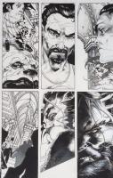 Simone Bianchi - New Avengers #15 p2, Comic Art