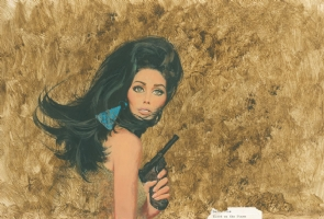 Robert McGinnis - Blood on the Stars Comic Art