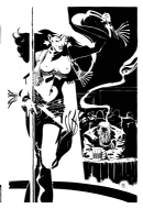 Paul Smith - Sin City's Nancy and Marv Comic Art