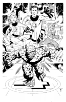 Paul Smith - The Fantastic Four - 2250 Comic Art
