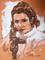 Tony Harris - Leia, Comic Art