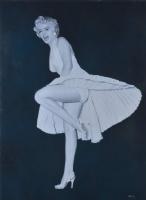 Enric Torres-Prat - Marilyn Monroe Comic Art