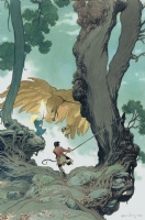 Charles Vess - In Berenhead Forest Comic Art