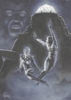John Totleben - Miracleman and Miraclewoman at Olympus, Comic Art