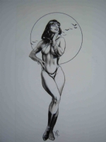Dave Stevens - Vampirella Comic Art