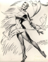 Steve Rude - Sundra Peale Comic Art