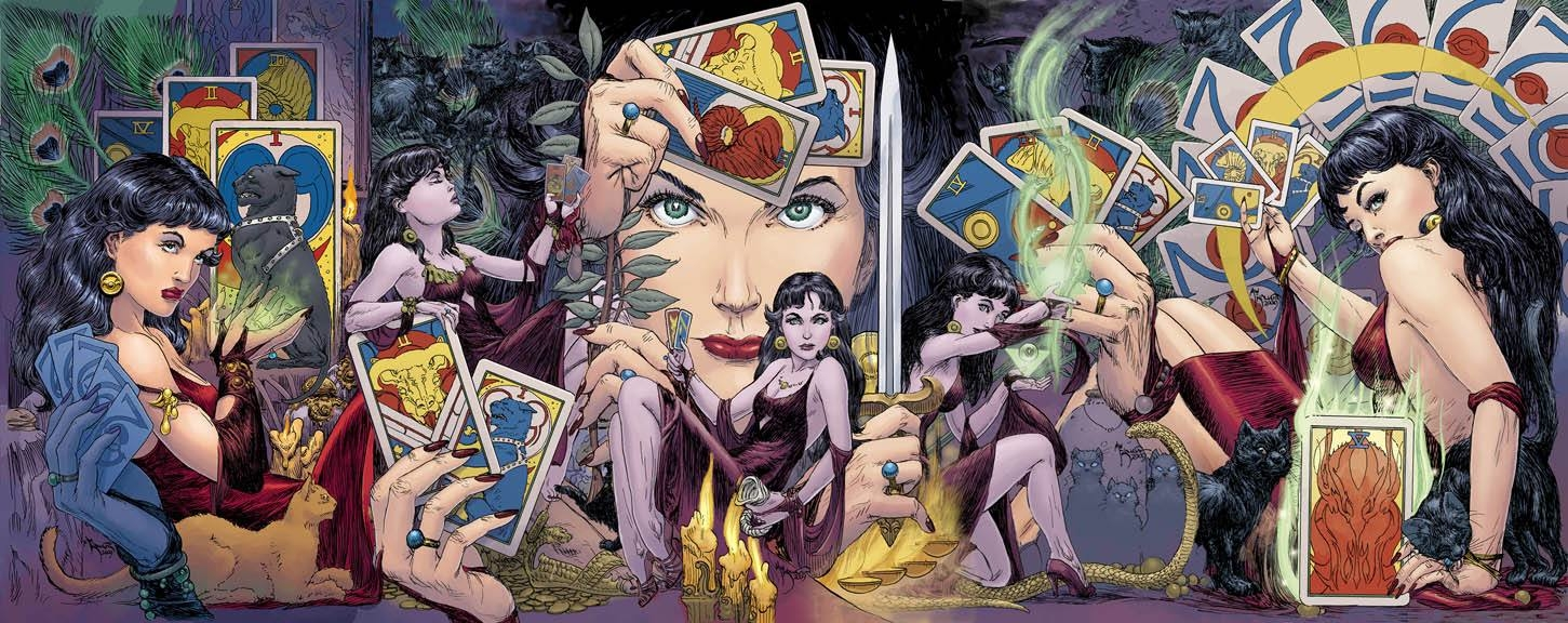 Michael Kaluta - Madame Xanadu 11-15 covers Comic Art