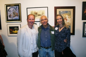 Spectrum Exhibition 9/11 2009 - with Boris Vallejo and Julie Bell Comic Art