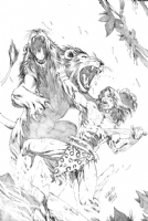 Wellington Alves Tarzan Comic Art
