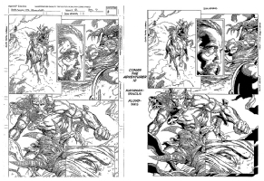 Barry Windsor-Smith inspired Conan the Adventurer #12 page 7 by Kayanan / Floyd Comic Art