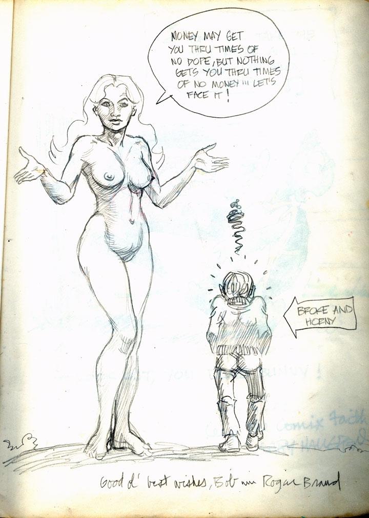 Roger Brand Comic Art