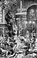 Massacre Comic Art