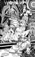 House of Cthulhu Comic Art