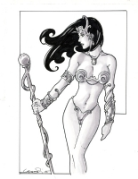 Dejah Thoris by Aaron Lopresti Comic Art