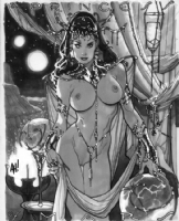 Dejah Thoris by Adam Hughes Comic Art