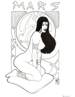 Dejah Thoris - 4 by Chad Spilker Comic Art