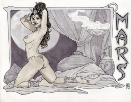 Dejah Thoris - 6 by Chad Spilker Comic Art