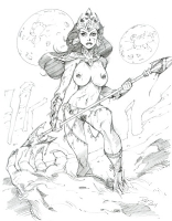 Dejah Thoris - 3 by Phil Moy Comic Art
