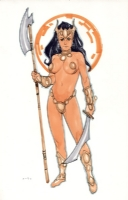 Dejah Thoris by Phil Noto Comic Art