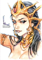 Dejah Thoris by Kenneth Rocafort Comic Art