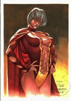 Thony Silas-Princess Projecta (LSH) Comic Art