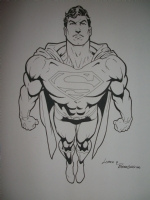 Jose Luis Garcia Lopez-Superman Comic Art