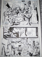 X-Men Issue 16 p19 (Wolverine, Storm, Psylocke), Comic Art