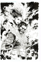 All New X-Men 12 Variant Cover (Phoenix, Wolverine), Comic Art