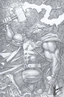 The Mighty Thor (2011) #11 cover Comic Art