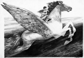 Pegasus Comic Art