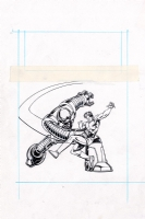 Magnus Robot Fighter #03, redeemable card insert Comic Art