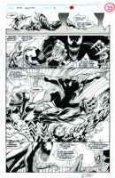 VENOM CARNAGE Spider-Man Unlimited #2 page 25 art by Ron Lim Comic Art