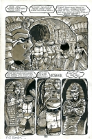 Teenage Mutant Ninja Turtles TMNT #32 page 36 by Mark Bode, Kevin Eastman & Eric Talbot Comic Art