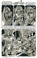 Teenage Mutant Ninja Turtles TMNT #32 page 37 by Mark Bode, Kevin Eastman & Eric Talbot Comic Art