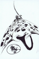 Negation Manta Rider from Crossgen's Crux by Steve Epting Comic Art