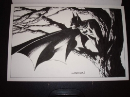 Bernie Wrightson Batman Comic Art