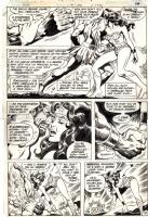 Gene Colan Wonder Woman page Comic Art