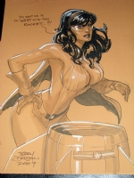 TERRY DODSON PHANTOM LADY Comic Art