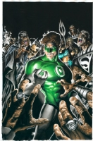 Blackest Night Hardcover Comic Art
