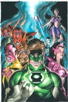Blackest Night: Green Lantern HC Comic Art