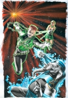 GREEN LANTERN: EMERALD WARRIORS #3 Comic Art