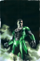 GREEN LANTERN: EMERALD WARRIORS #4 Comic Art