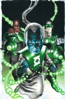 Green Lantern Corps  #48 Comic Art
