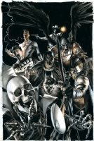 Blackest Night: Rise of the Black Lanterns Comic Art