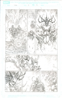 Loki #3 Comic Art
