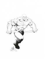 Drax the Destroyer Comic Art