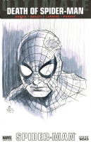 Death of Ultimate Spider-Man Comic Art