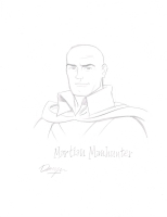 Martian Manhunter Comic Art