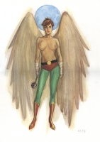 Hawkgirl (NSFW) Comic Art